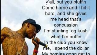 Gucci Mane ft. Wiz Khalifa - Nothin On Ya Lyrics