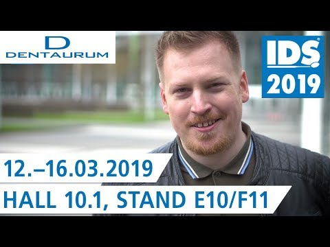 Countdown IDS 2019 | Experience DENTAURUM at the International Dental Show