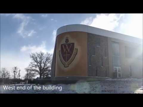 Tour Walsh University's global learning center