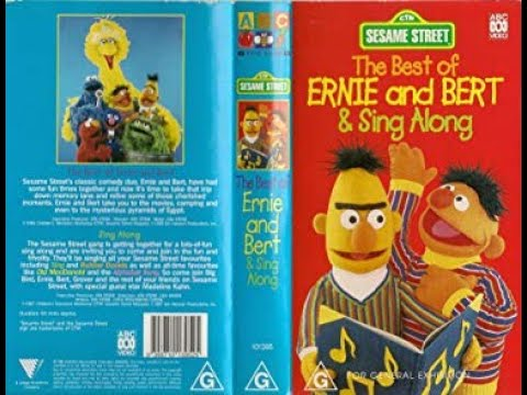 Download Sesame Street Home Video The Best Of Ernie And Bert & Sing Along Australian VHS