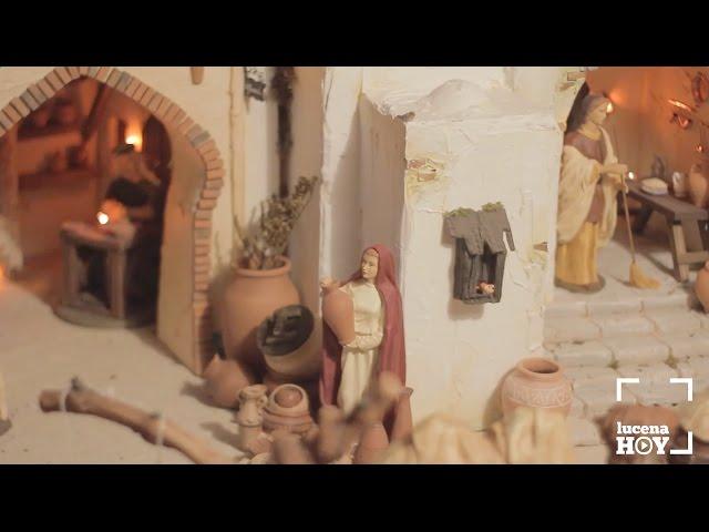 Vídeo: Ruta Belenística de Lucena: El belén ganador, obra de Marco Antonio Hernández