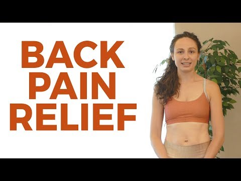 Safe & Simple Back Pain Stretches with Melissa ♥ Uplift Mood, Relax, Reduce Pain, Stress