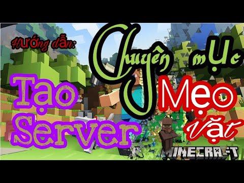 [Minecraft PE] Hướng dẫn tạo server minecraft chơi cùng bạn bè nhanh nhất!!