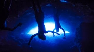 Cave Diving With Massive Sea Turtles | Hawaii
