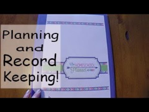 Homeschool planner and record keeping binder! Australian Homeschooling, Multiple ages.