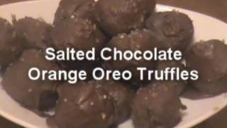 Simple Chocolate Orange Oreo Truffles - Myvirginkitchen