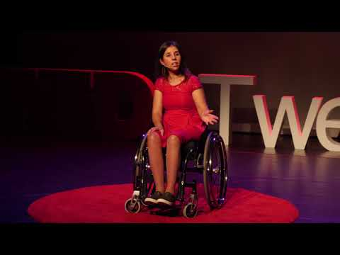 Disability does not mean inability | Yasmin Sheikh | TEDxTwenteU