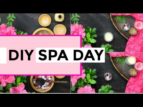 DIY Spa Day At Home Recipes - Pamper Yourself With 4 Beauty Treatments!!
