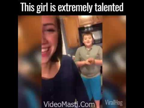 This Girl Is Extremely Talented