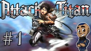 CADETS | Attack on Titan (AOT Wings of Freedom) | Part 1 Gameplay Walkthrough PS4 Xbox One