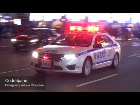 LAPD + NYPD + BOSTON PD + Paris + Madrid + Amsterdam + London Police Cars