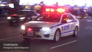 LAPD + NYPD + BOSTON PD + Paris + Madrid + Amsterdam + London Police Cars