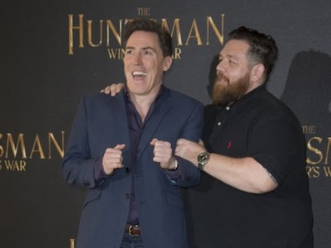 Nick Frost's on Set Embarrassment