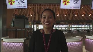 Avigail Maningo Introduces the Newest Airport Terminal