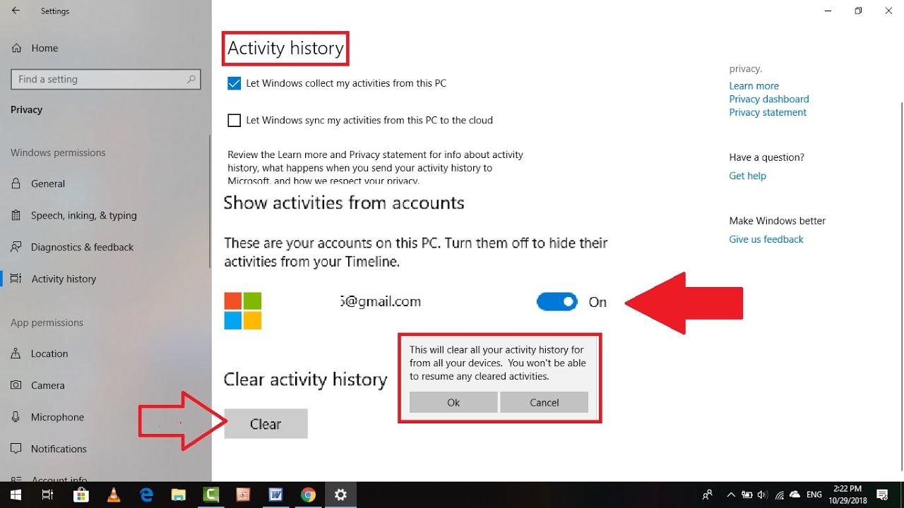 microsoft account login history