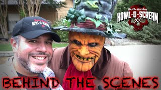 Howl-O-Scream 2018 Behind The Scenes Busch Gardens Williamsburg   Vault XX & Demented Dimensions