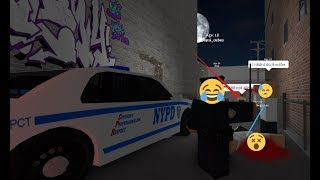 I became a police officer on Hidden Society 3 Roblox!