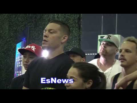 Nick Diaz and Nate Diaz Meet High School Friend - EsNews Boxing