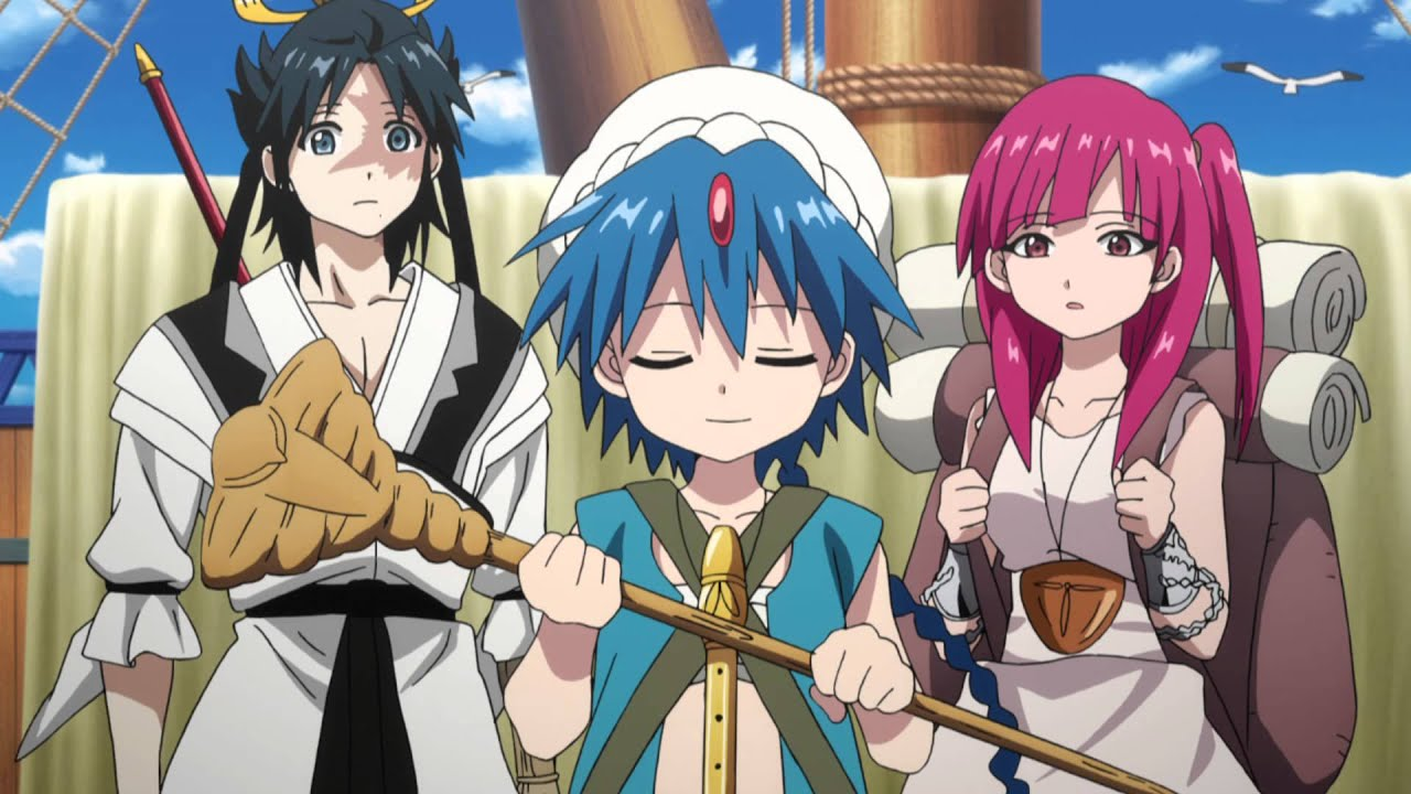 Magi: The Kingdom of Magic English Dub Trailer - YouTube