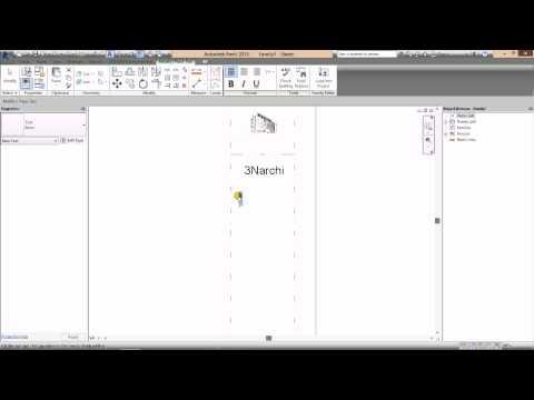 Video Revit | 7.1 HD Thiết Kế Khung Tên - Lớp Học Revit