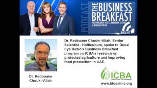 The Business Breakfast - Interview with Dr. Redouane Choukr-Allah