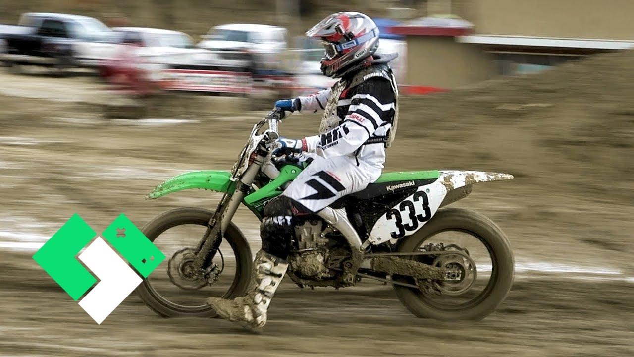 dirt racing bike mud tv