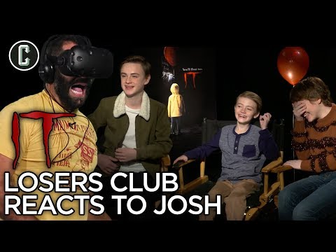 'It' the Movie Losers Club Reacts to Josh's VR |