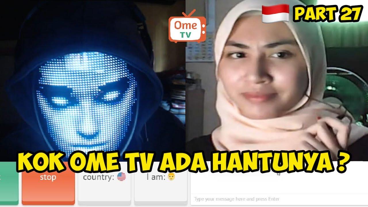 NGEH4CK KAMERA OME TV MALAH DIKIRA HANTU    PRANK OME TV INDONESIA PART 27