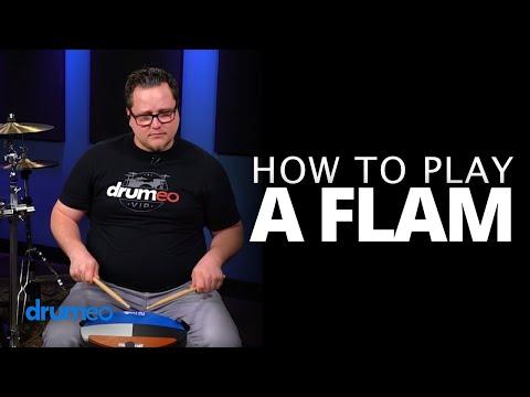 Flam - Drum Rudiment Lesson (Drumeo)