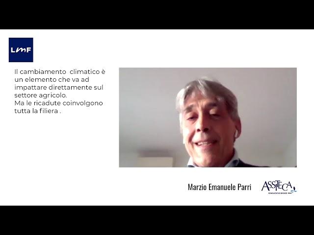 Cambiamenti climatici e impatto sulla filiera alimentare - Marzio Emanuele Parri (Assiteca)