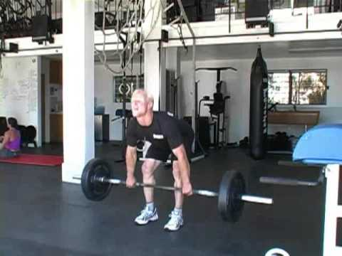 Deadlift/Run/GHD Situp WOD with Rob Miller