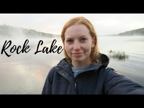 Camping at Rock Lake | Algonquin Provincial Park, ON