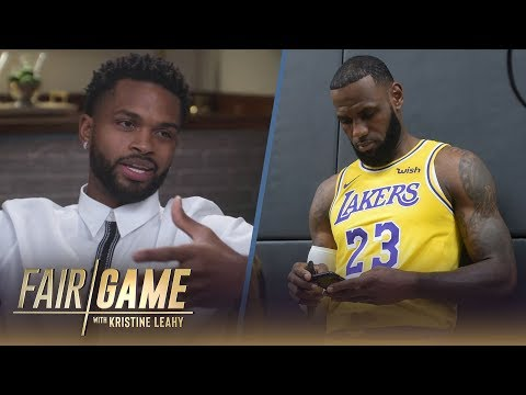 LeBron James is the Most Active Member of the Lakers Group Text  Troy Daniels | FAIR GAME