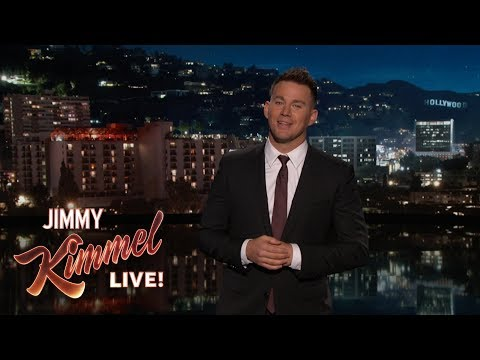 Channing Tatum's Guest Host Monologue on Jimmy Kimmel Live