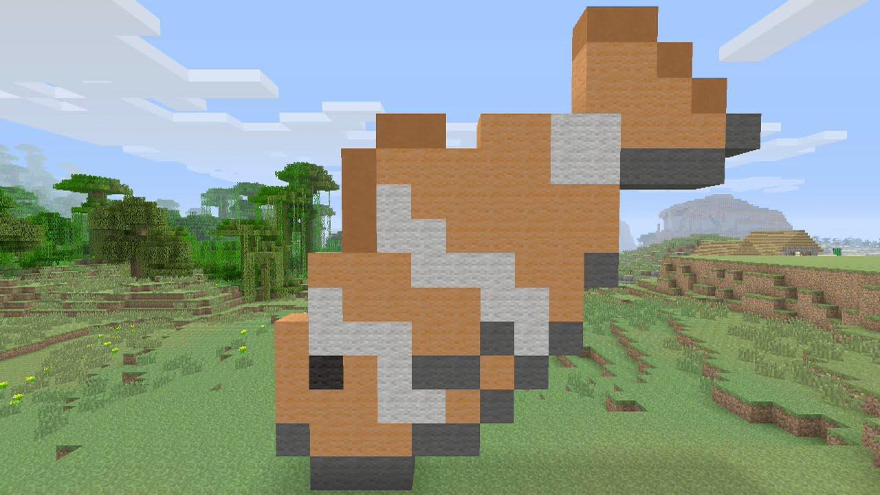 Minecraft Tutorials - Clownfish Pixel Art - YouTube