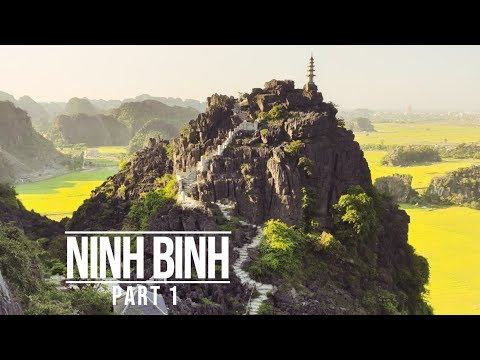 NINH BINH - THE MOST BEAUTIFUL PLACE IN VIETNAM (PART 1)