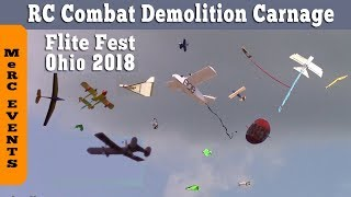 Flite Fest Ohio 2018 Crashing Combat Carnage, Crazy Looking Planes, Hundreds of Pilots
