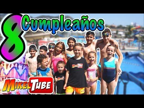 La Fiesta de Cumpleaños 🎂de Mikel en un Parque Acuático 🎁