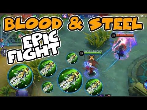 LANCELOT VS ALUCARD FULL BLADE OF DESPAIR | EPIC FIGHT (Mobile Legends)