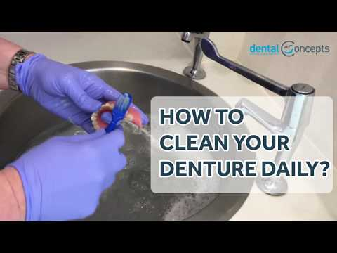 How To Clean Your Dentures Daily