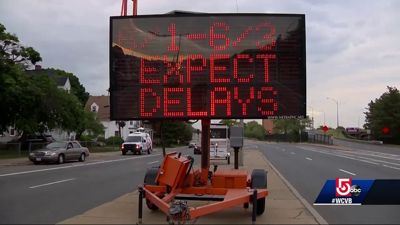 Summer traffic warning: 2nd phase of Comm  Ave Bridge Project to begin in 1  month