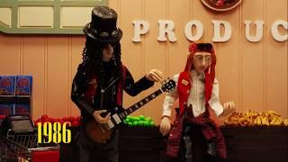 """Yesterdays"" -  Guns N' Roses Clay Animation"