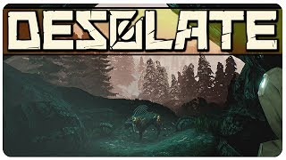 Desolate - The Abandoned Train Station | Desolate Gameplay [PC Game]