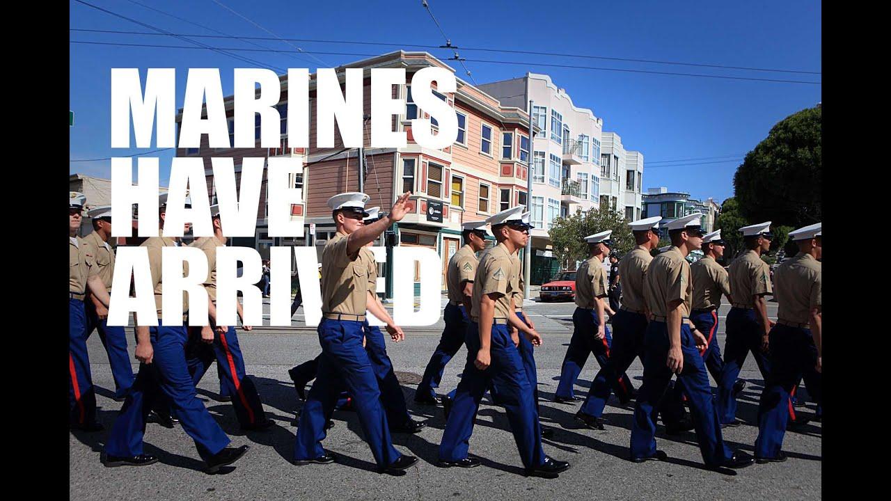 Marines Arrive in Style: Marine Week Seattle