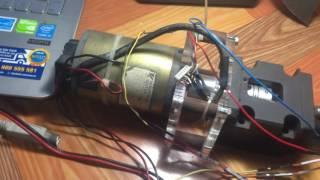 Demo PID điều khiển vị trí động cơ DC servo.