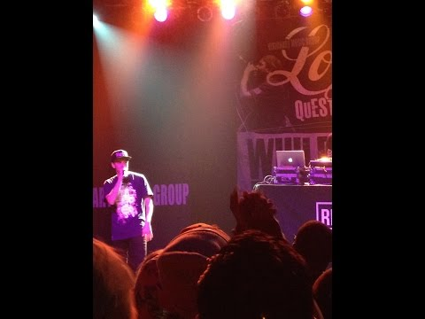 U.S. Marine raps on stage with Logic in Philly