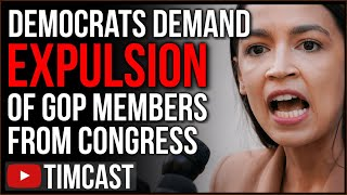 Democrats Move To EXPEL Republicans From Congress As GOP Begs For Unity, AOC And Bush Say NO