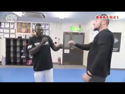 MMA Fighter tries out RCI on Japanese TV... His reaction, Priceless!