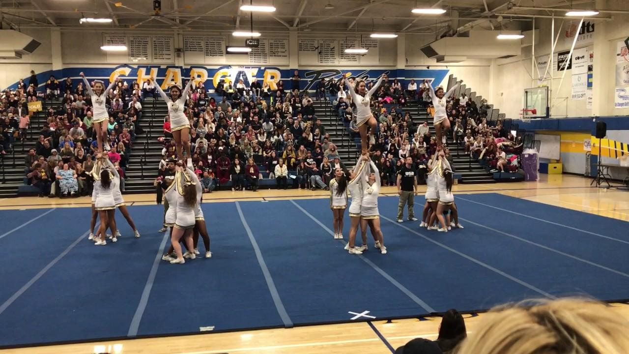 Golden Valley High School Usa Cheer Youtube