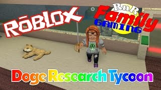Let's Play Roblox! Doge Research Tycoon 1